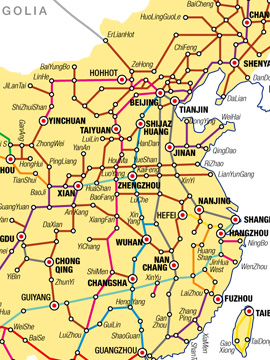 China Road ZhongGuoLu ZGL China Maps Latest City & Provincial China Map